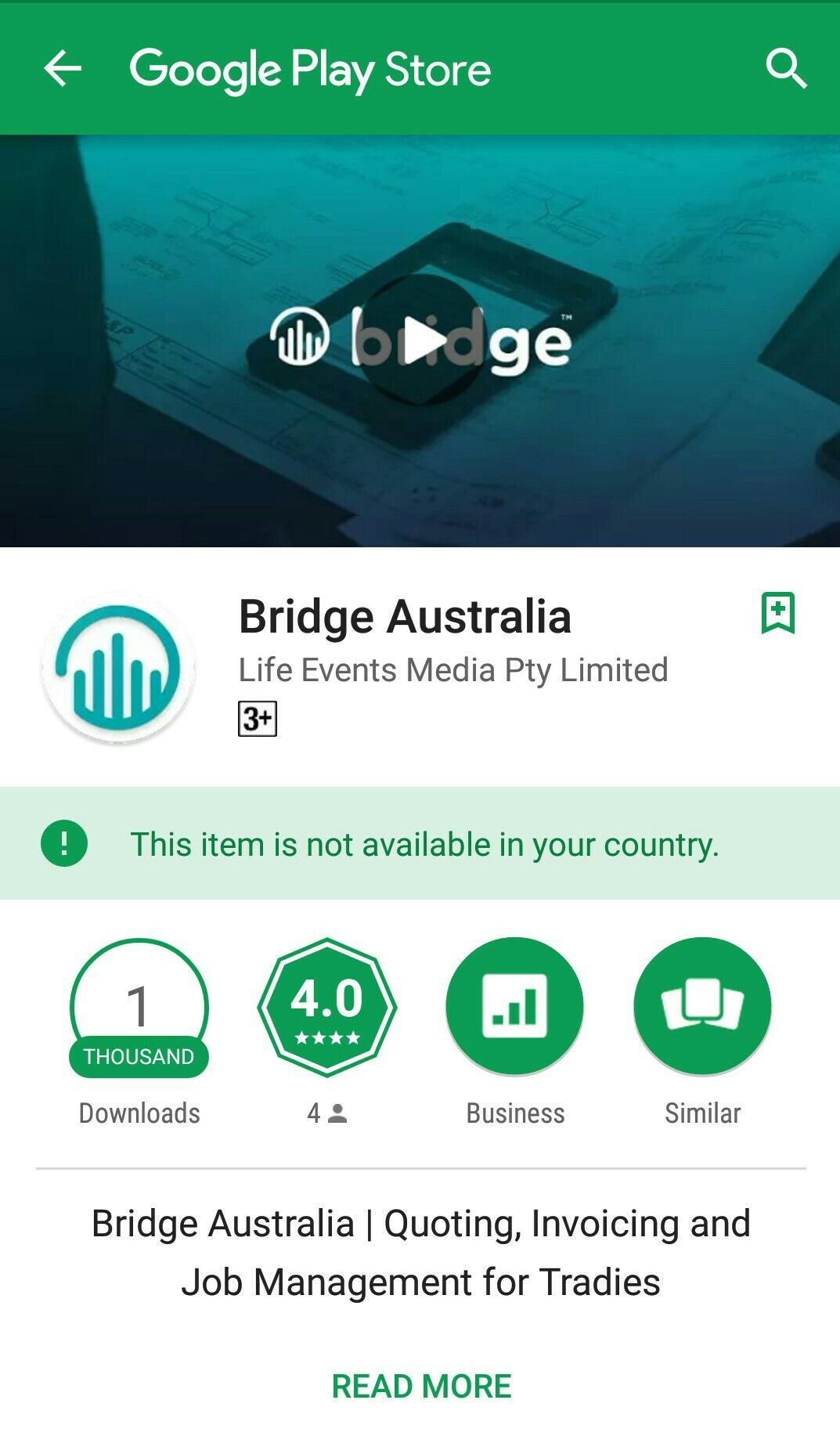 Australian app for Tradies send quotes an invoices pay