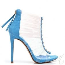 8351074c33f3 Dámske modré sandále ALBA