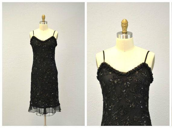 06fb479d47 SEQUIN dress Stenay   black cocktail dress   by IngridIceland ...