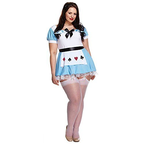 Alice Plus Size Fancy Dress Costume Bluewhite To View Further