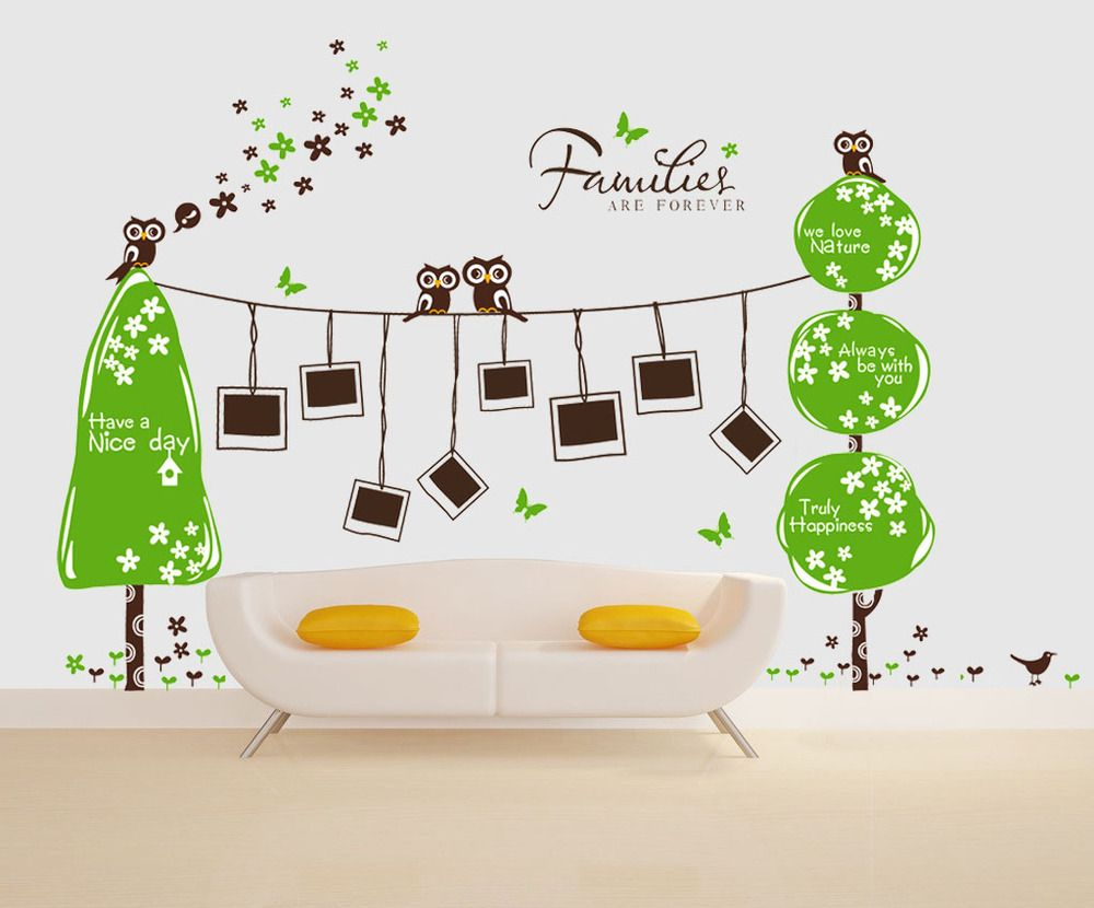 funny family tree wall decals to add beauty of your room captivating family tree wall - Design Wall Decal