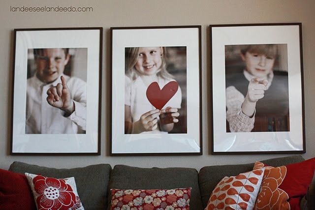 I Love You pictures (diy)