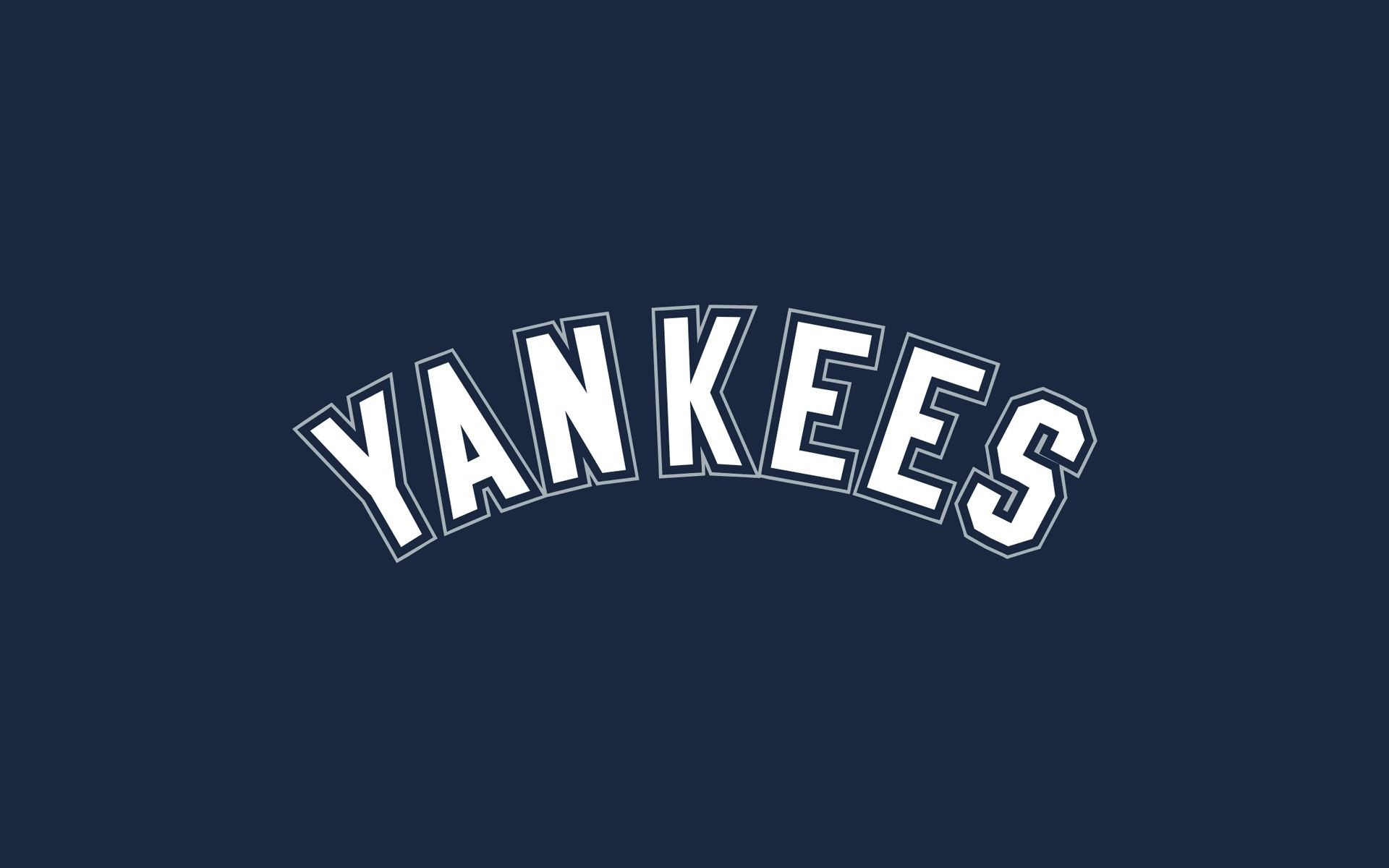 Wallpapers New York Yankees Mlb Logo Navy Wide Baseball 1920x1200 Fondos De Deportes Yankees De Nueva York Beisbol
