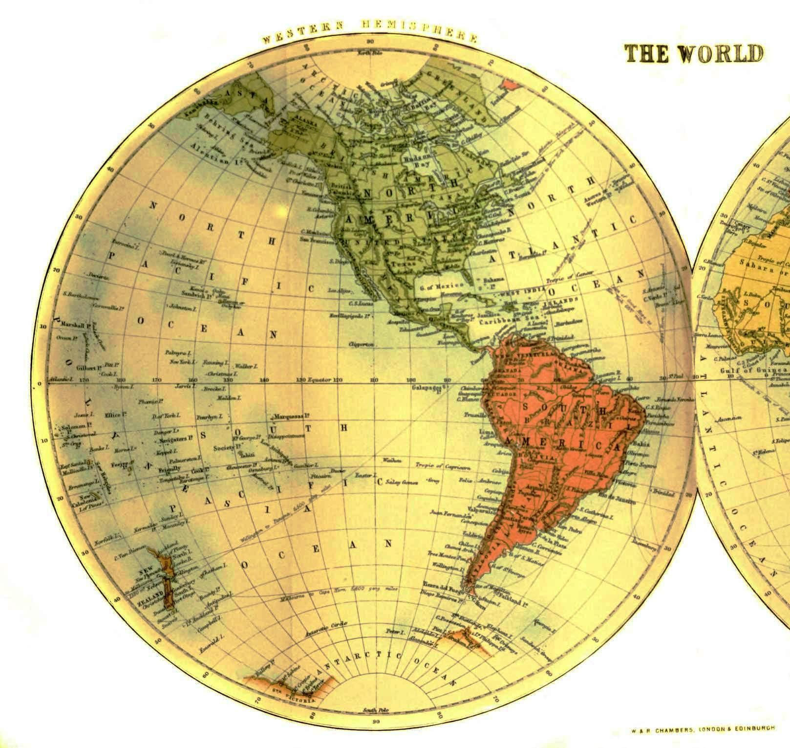 Geopolitical map world half western hemisphere a printing we will geopolitical map world half western hemisphere gumiabroncs Image collections