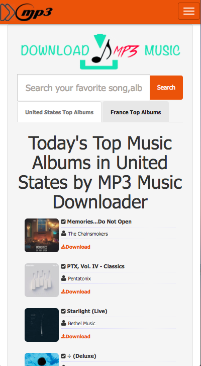MP3 music downloader for android full APK | Mobile Apps and