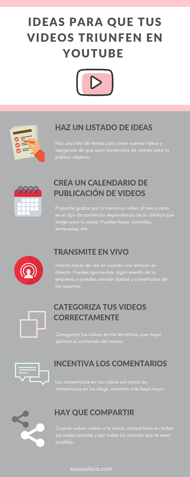 100 Ideas De Videos Para Youtube Trucos De Youtube Consejos De Blog Ideas Para Vídeos De Youtube