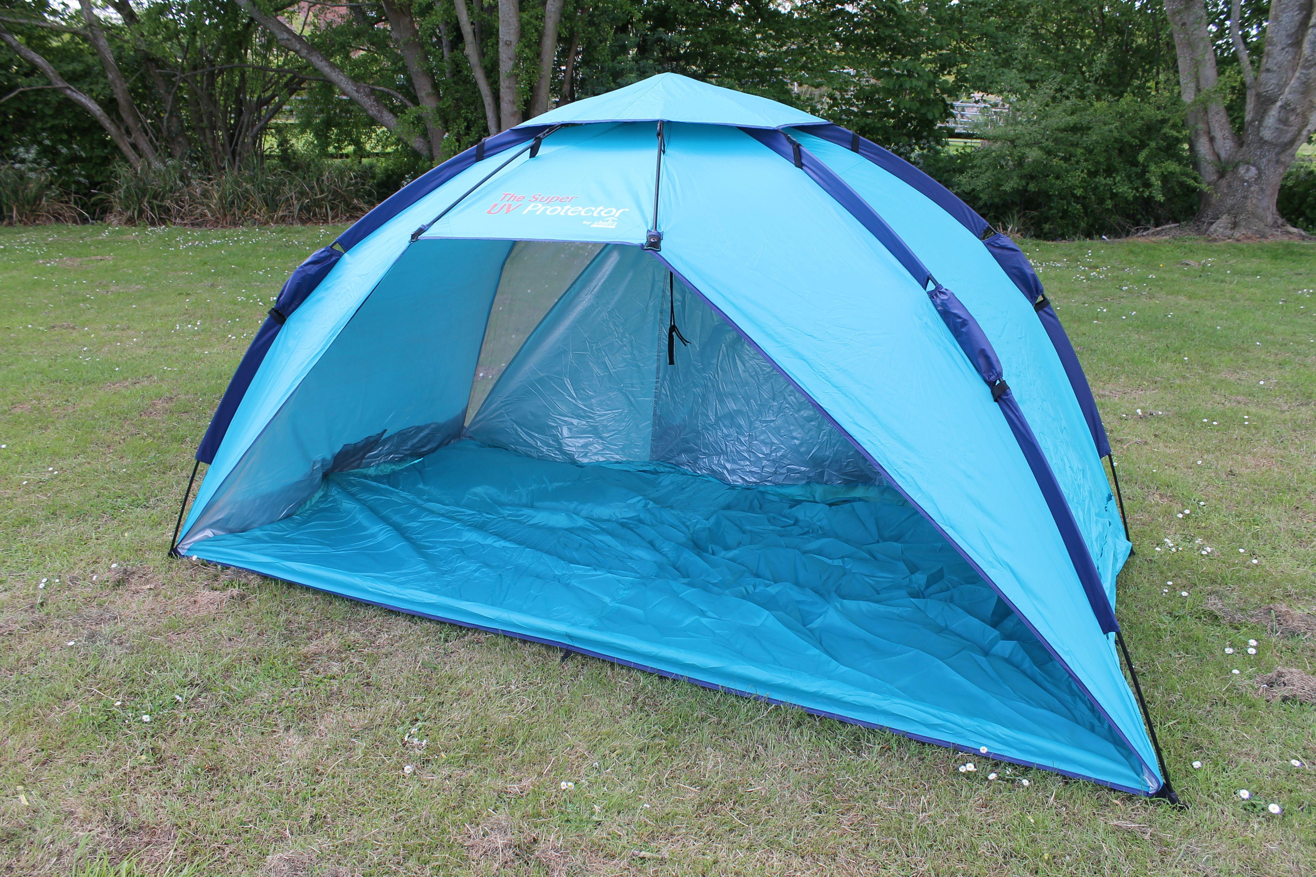 The UK's biggest UV pop up shelter The Super UV