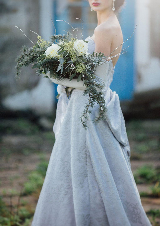 Silver Wedding Dress by Christine Trewinnard | CT Couture ...
