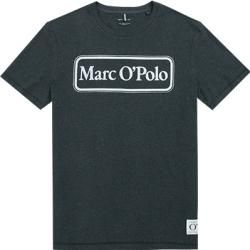 Photo of Marc O'Polo Men's T-Shirts, Shaped Fit, Cotton, Heather Gray Marc O'Polo