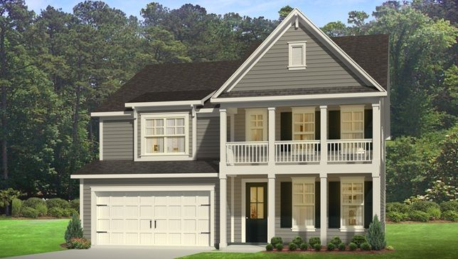 Harbor Oak Elevation C House Charleston Homes Home House Styles