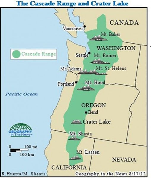The Best Places In America To Be In The Event Of A Collapse Ask - Cascade mountains on us map