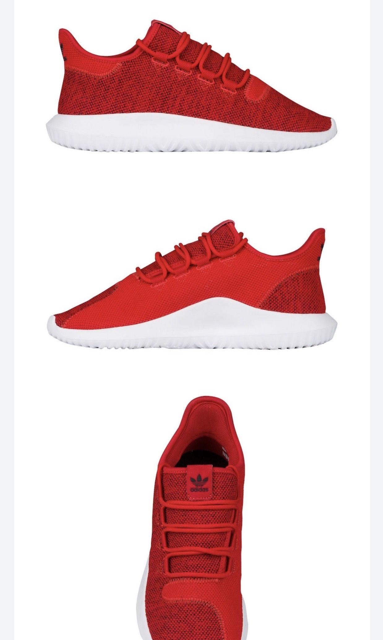 7ab03dfa4b07dd Scarlett red adidas Tubular Shadow❤ ❤ ❤