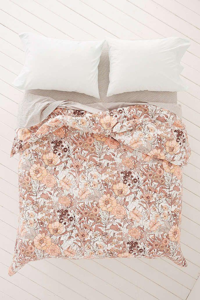 plum & bow mila allover floral duvet snooze set | duvet, dorm and