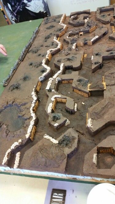 Trench System For The Great War