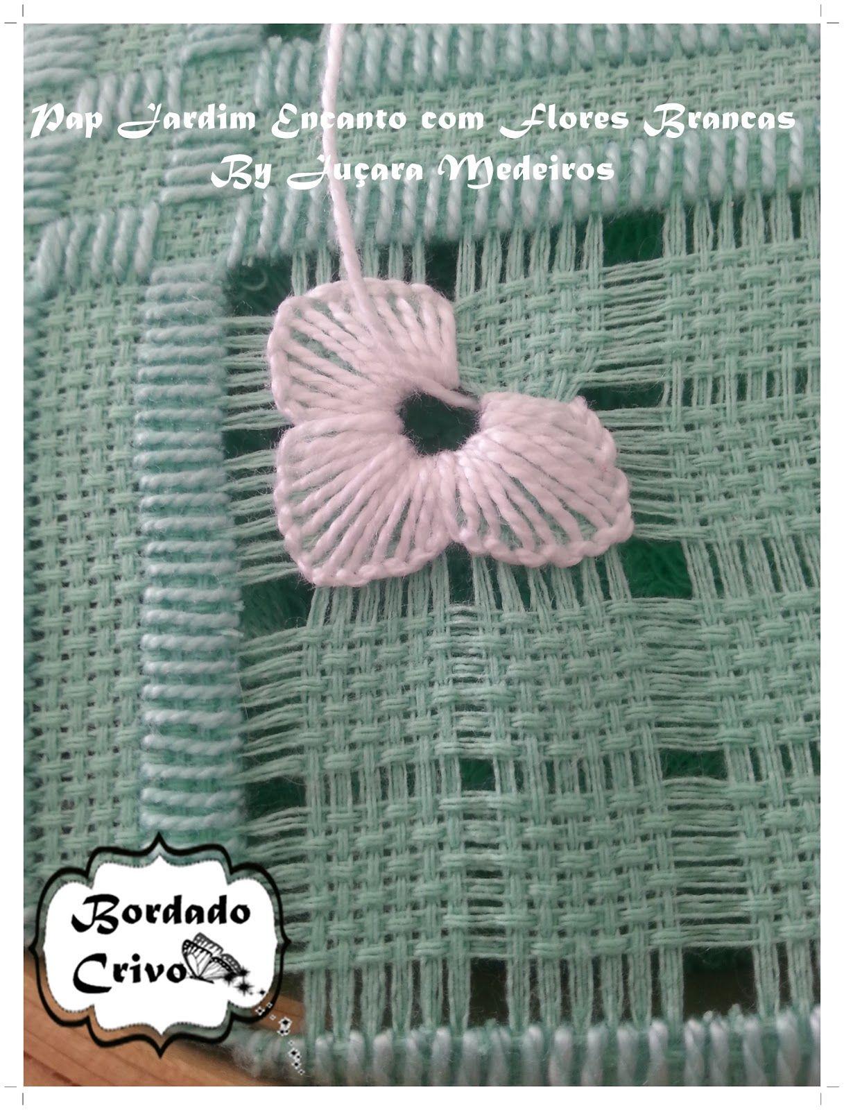 Pap de bordado | crochê da lili | Pinterest | Kunst Ideen ...