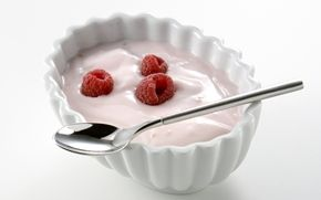 Helppo vadelmarahka / Easy rasberry quark