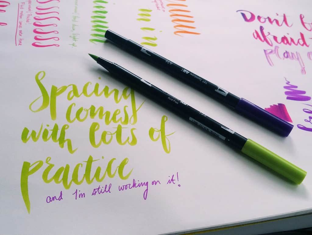 Brush Lettering Tips 5 Techniques To Instantly Improve