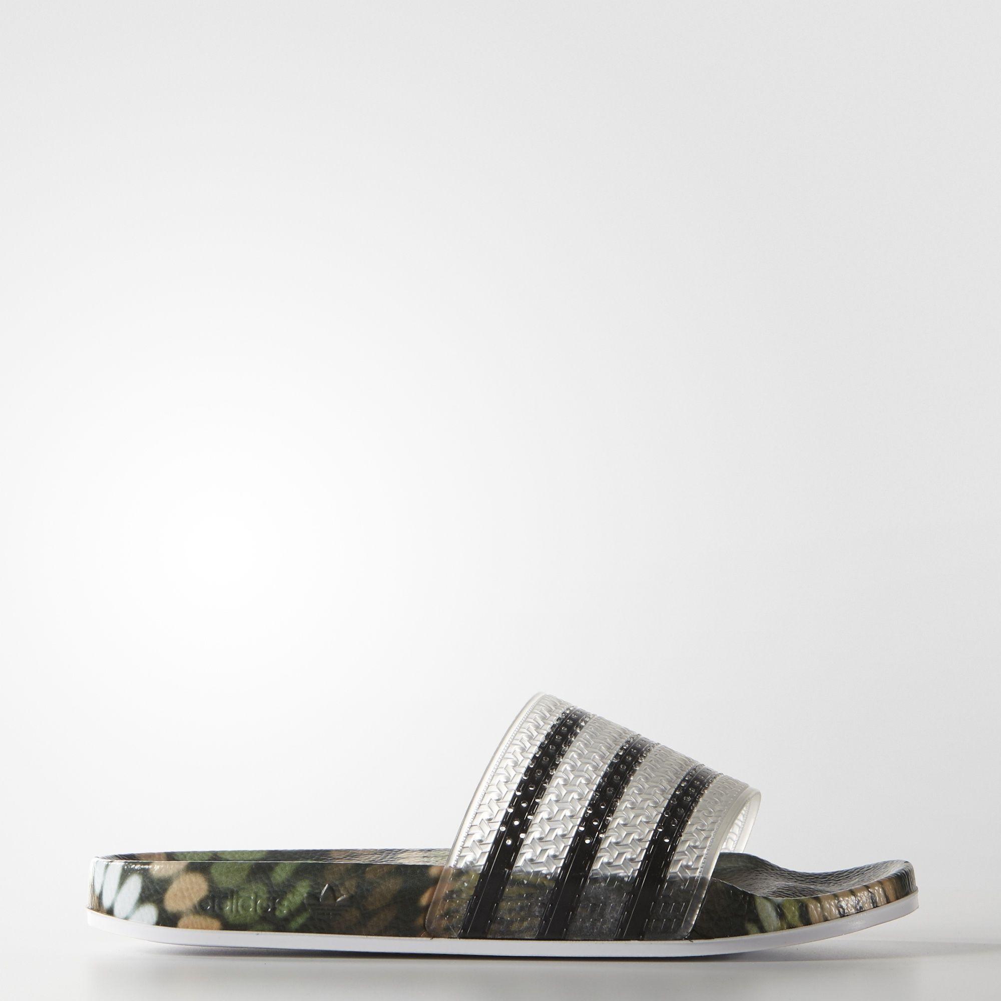 b8f2aacc01aee5 adidas - adilette Slides Black Adidas