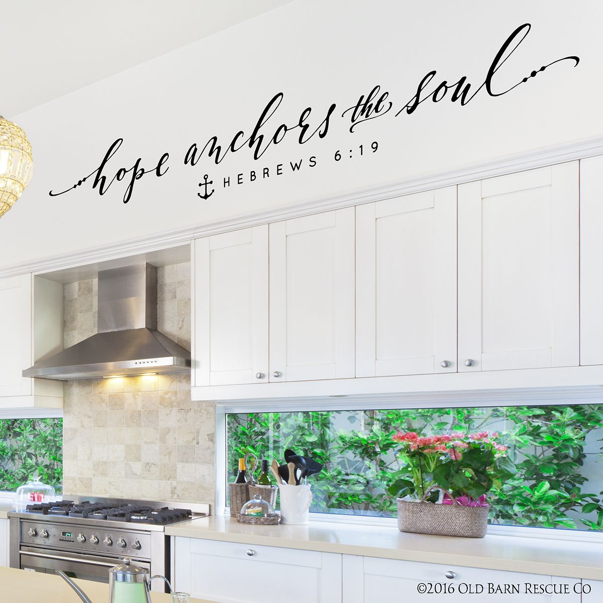 Inspiring bible quotes hope anchors the soul wall decal wall inspiring bible quotes hope anchors the soul wall decal amipublicfo Image collections