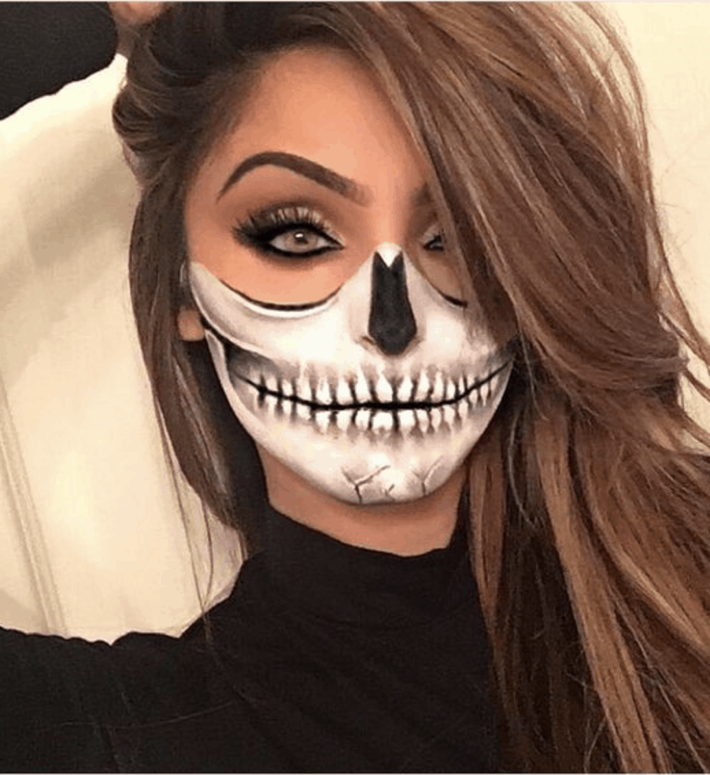 13 Easy Halloween Makeup Ideas To Try An Unblurred Lady In 2020 Halloween Makeup Easy Halloween Makeup Looks Cute Halloween Makeup