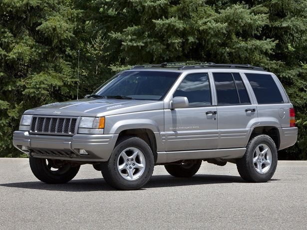 Jeep Grand Cherokee 5 9 Limited 1998 Jeep Grand Cherokee 1998 Jeep Grand Cherokee Jeep