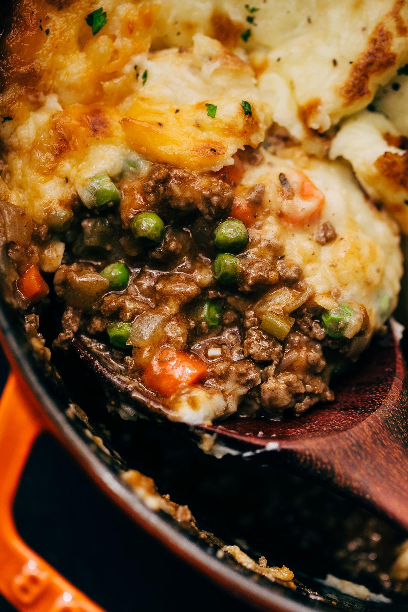 Easy Rustic Shepherd's Pie Recipe   Little Spice Jar
