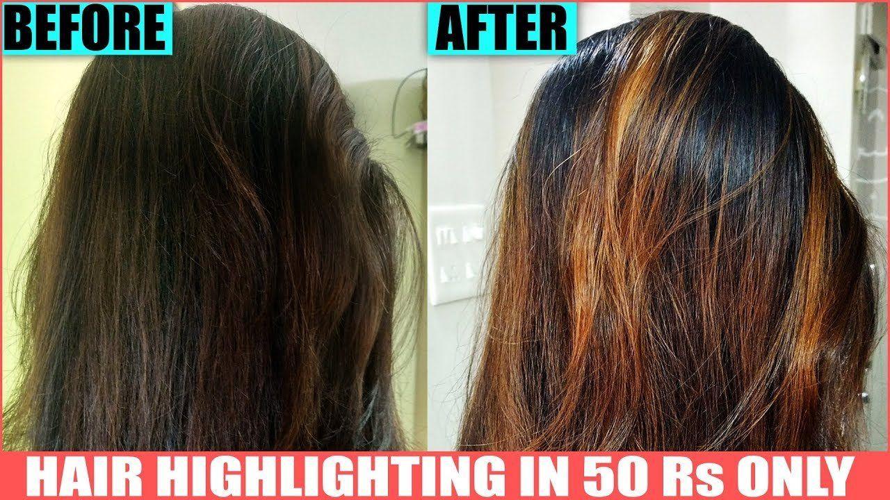 To Prepare This You Will Need Hydrogen Peroxide Baking Soda Hair Conditioner Aluminium Foil Gloves Hair Comb Diy Highlights Hair Hair Highlights Brown Hair Dye