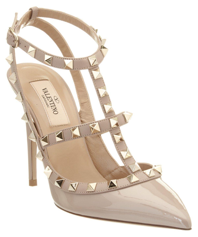 c8231d12e22d VALENTINO Valentino Rockstud Patent Ankle Strap Pump .  valentino  shoes   pumps   high heels