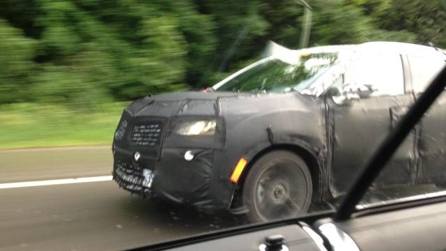 Lincoln's 2015 MKC still roaming around Michigan in camo. When will they pull the wraps off? Lincoln needs this truck.