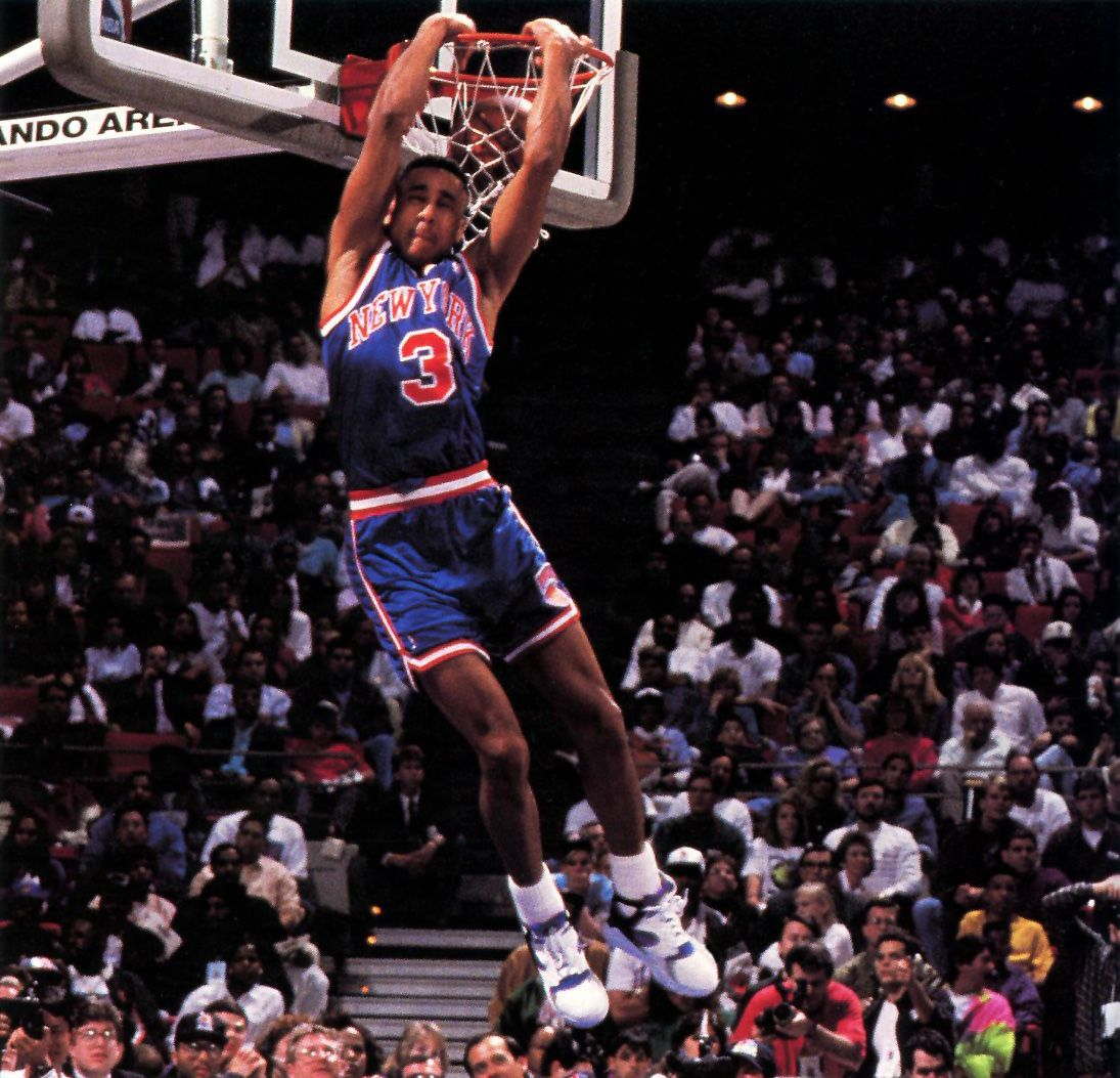 John Starks 1992 Slam Dunk Contest Dunk Contests