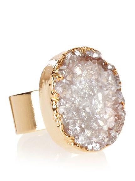 Janna Conner Deva Crystal Druzy Ring at MYHABIT