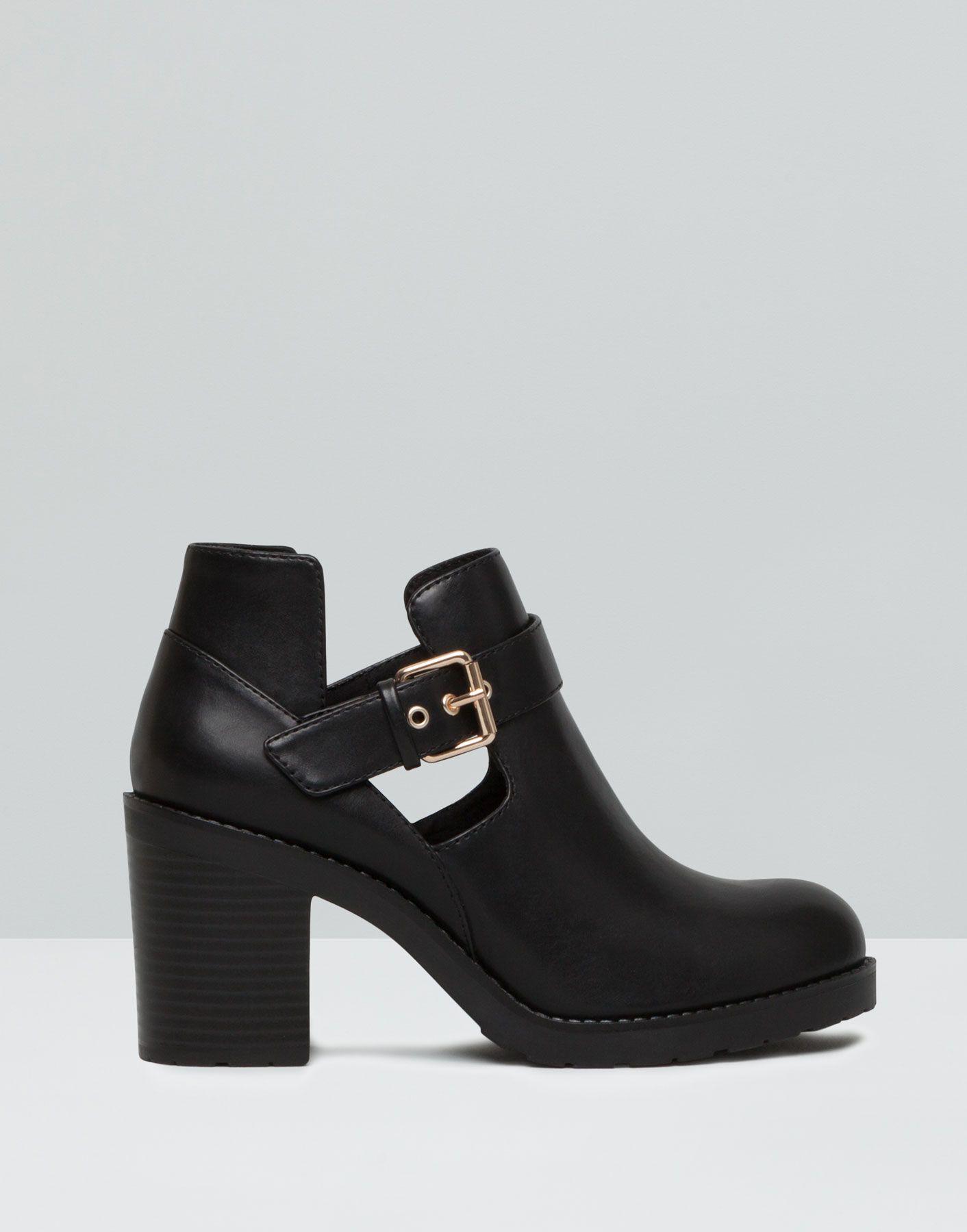 bottines talon ajourÉes - tailles spéciales - chaussures