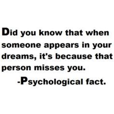 Dreaming About Someone Means They Miss You