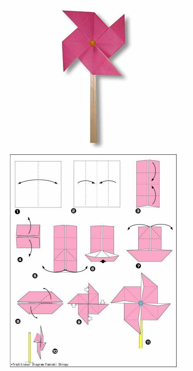 Photo of Tips and templates: origami tutorial for children step by step #k