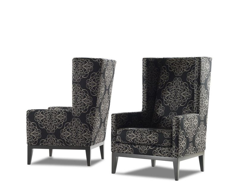 Contemporary Wing | ... Magnificent Twin Contemporary Decorative Wing Back Chairs Design Ideas  sc 1 st  Pinterest & Contemporary Wing | ... Magnificent Twin Contemporary Decorative ...
