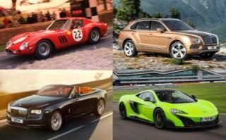 Top 10 cars for lottery winners