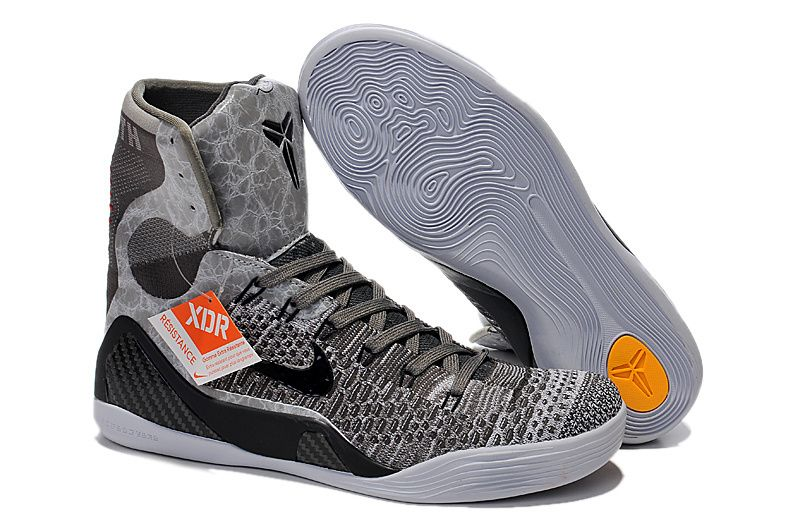 839af81573fa Cheap Kobe 9 Elite Detail Base Grey Black Metallic Silver 630847 003 2018  Spring Summer Sale