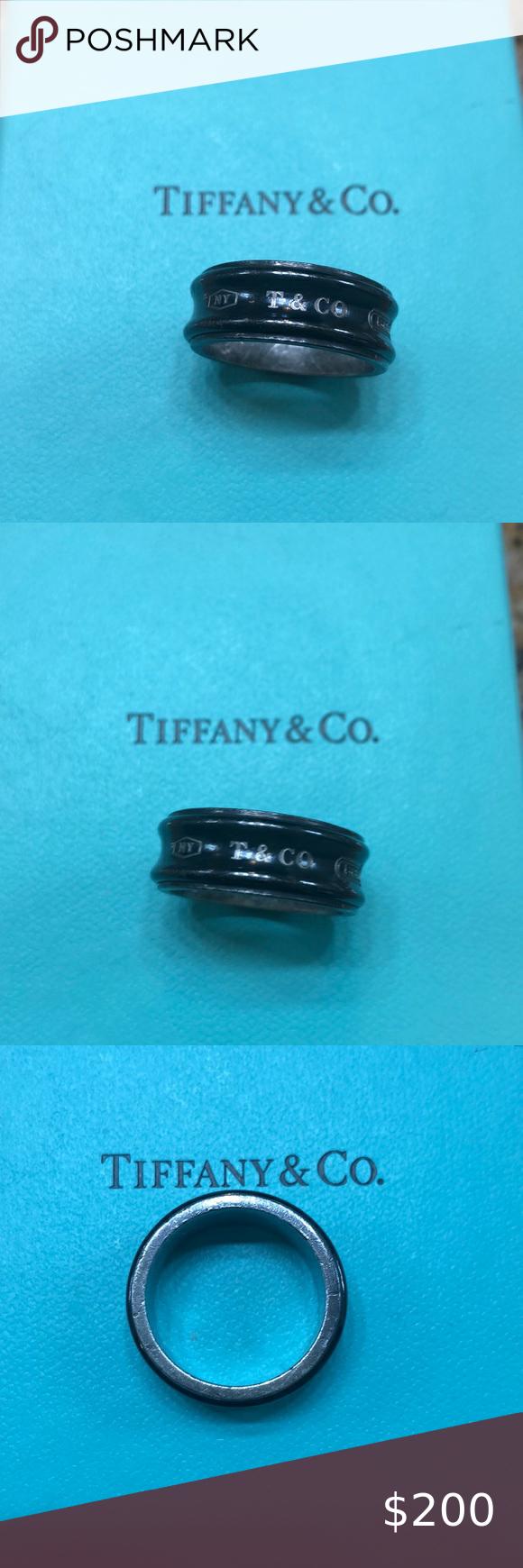 Tiffany Men's Ring size 9 in 2020 Ring size, Mens ring
