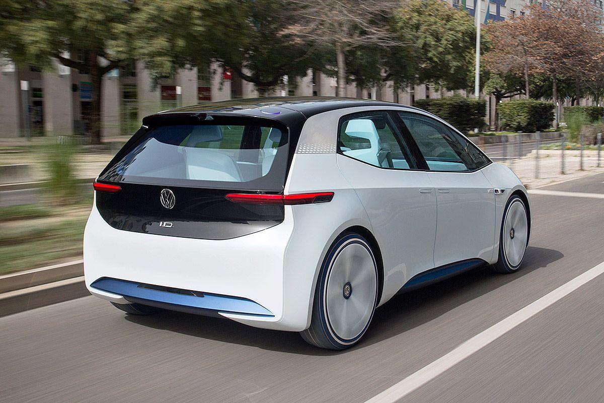 Bildergalerie Vw Id 3 2020 Volkswagen Elektroauto Auto Bild
