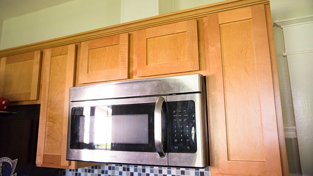 How to Install a Microwave with External Venting Over