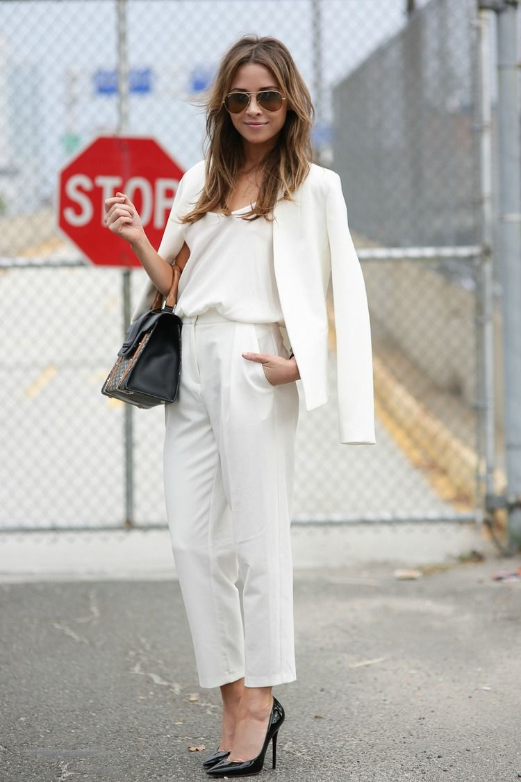 And I Was Like... all about being chic! All white everything! #andiwaslike #chicfashion