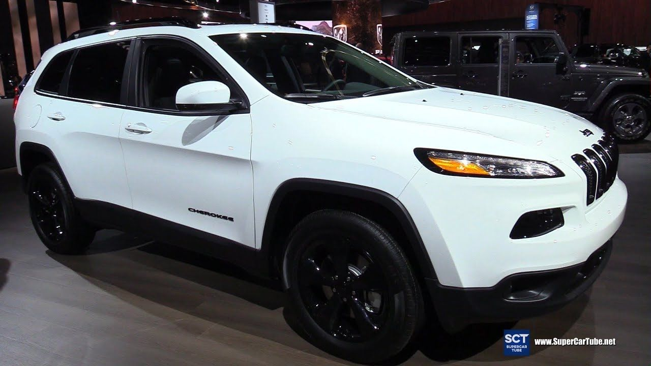 2017 Jeep Cherokee High Altitude Exterior and Interior