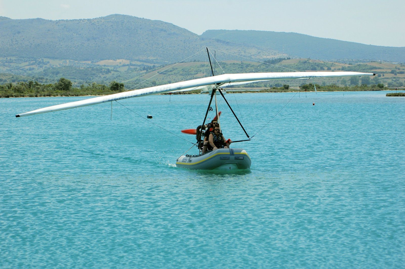 Polaris FIB 582 Flying Inflatable Boat, Microlight and