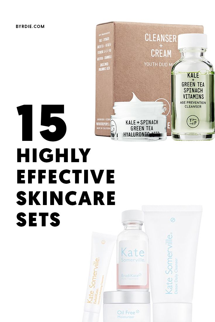 The 21 Best Beauty Sets For All Your Holiday Gifting Needs Effective Skin Care Products Skincare Set Skin Care Kit