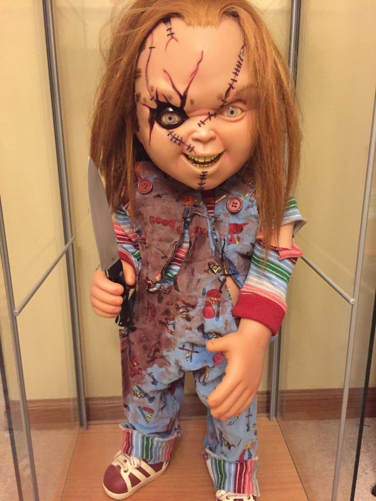 Sideshow Chucky Life Size Doll 11 Prop Replica Seed Of Child SideshowCollectibles
