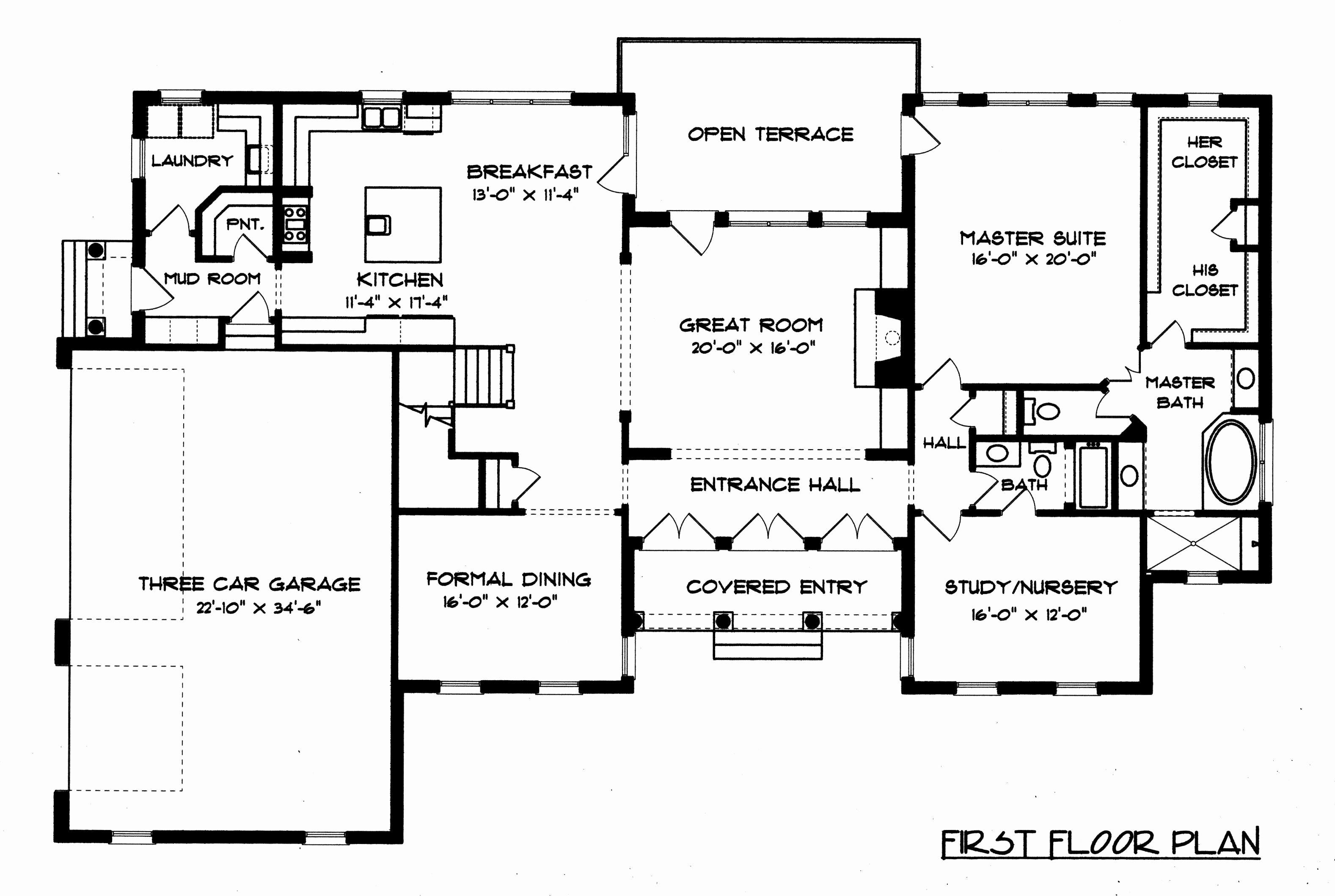 Georgian Home Plans New Baby Nursery Georgian Style House Plans Ireland House Plans Floor Plans House Floor Plans Cottage Plan