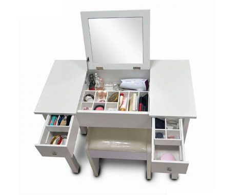Dressing Table With Lift Up Mirror Google Search Diy Vanity Desk