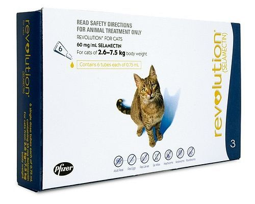 Revolution For Cats gives relief from multiple parasites