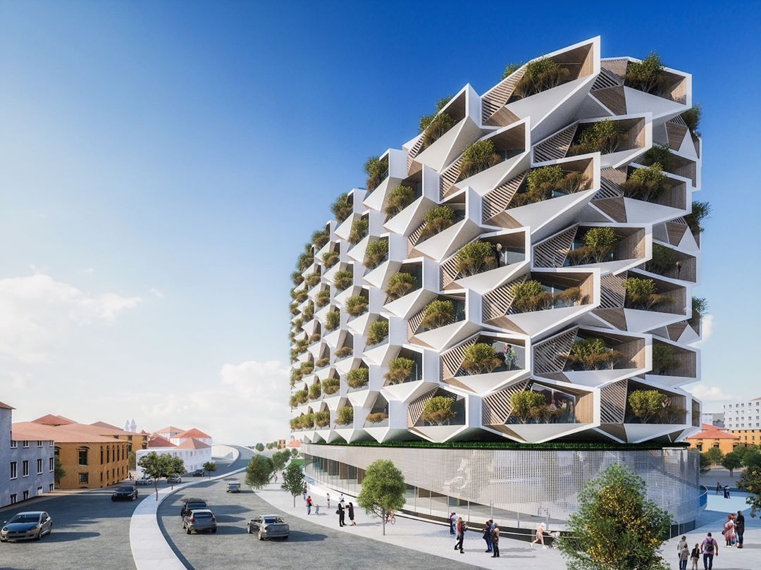 Istanbul Is On Track To Build A Stunning New Landmark Thatll - 384ft tall apartment will be the worlds first building to be covered in evergreen trees