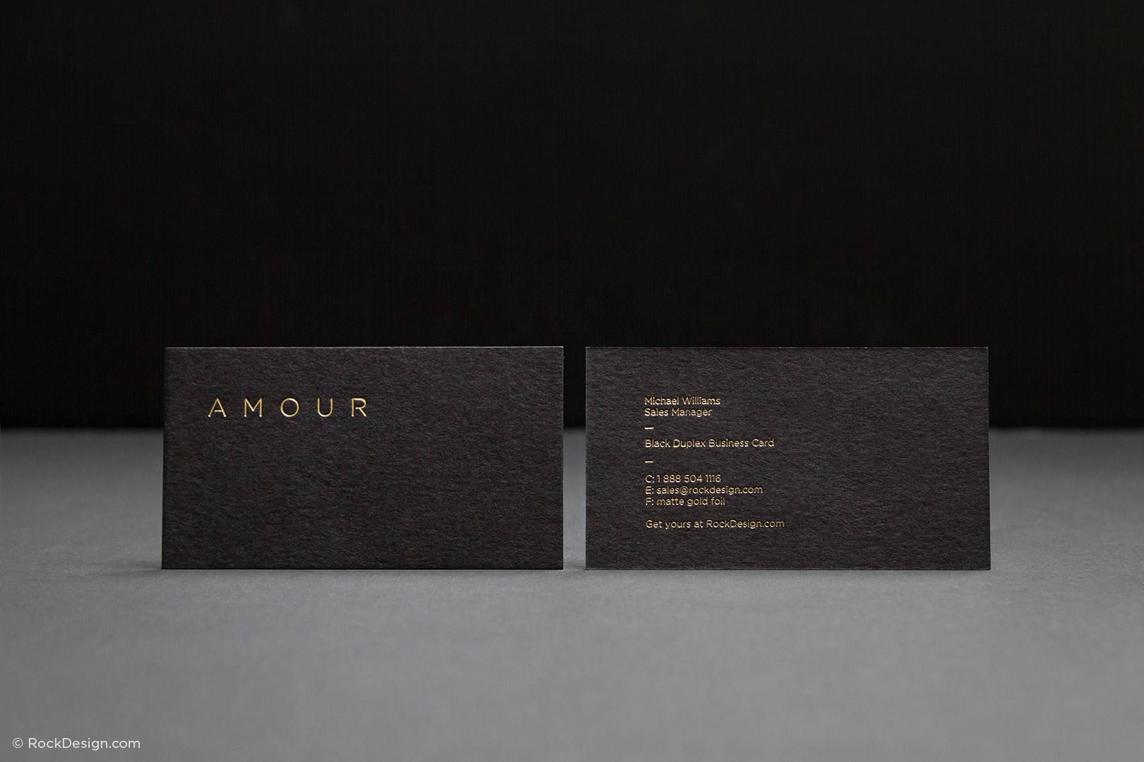Fancy unique black business card design template amour fancy unique black business card design template amour rockdesign luxury business card printing reheart Gallery